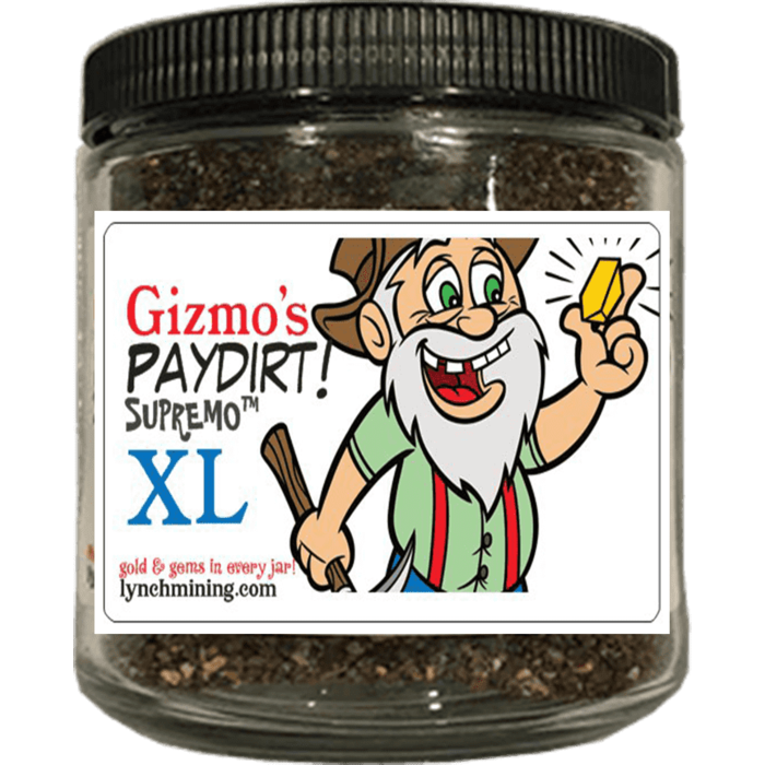 Gizmo's Paydirt® Supremo XL™ - Gold + Gems