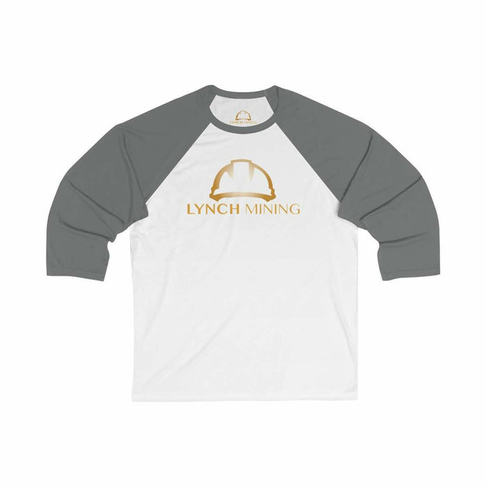 Unisex 3/4 Sleeve Baseball Tee - Lynch Mining, LLC