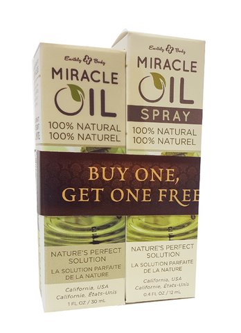 MIRACLE OIL BOTTLE & SPRAY COMBO