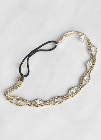 Dazzling Crystallized Hairband