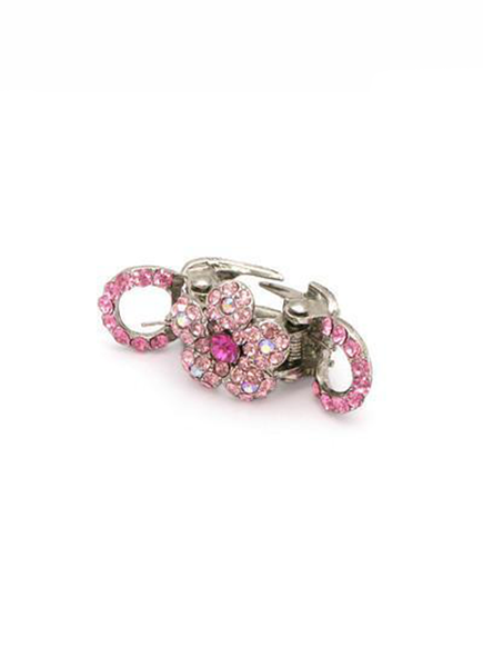 Mini Spring Flower Jaw - Pink