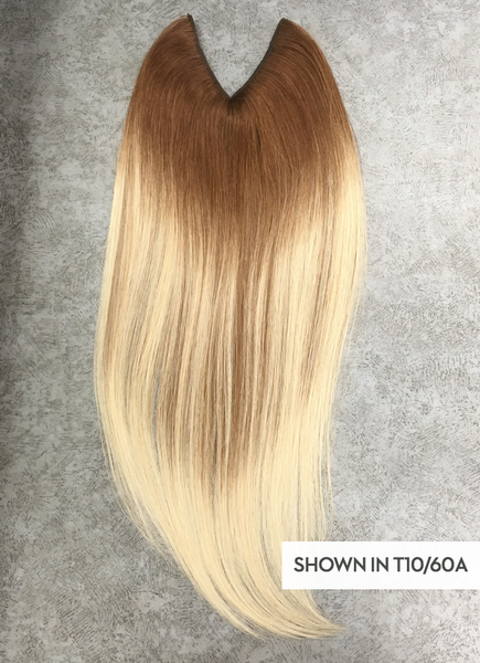 V-Shape Human Hair Clip-In Hair Extension