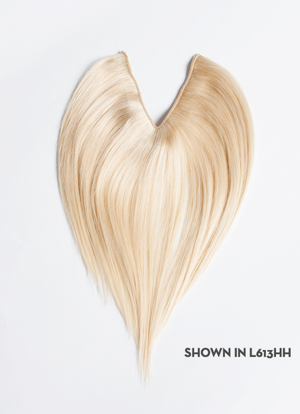 "V-Shape Human Hair 10"" Clip-In Hair Extension"