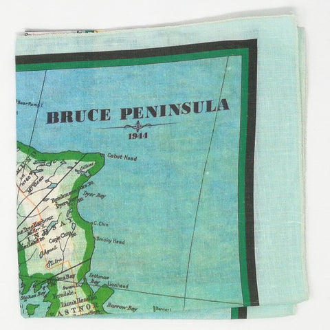 Bruce Peninsula Vintage Tea Towel