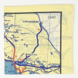 French River/Nipissing Area Vintage Tea Towel