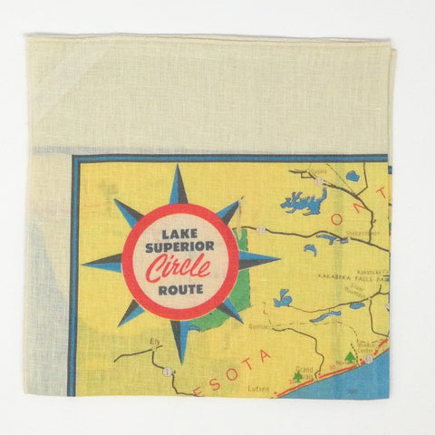Lake Superior Vintage Tea Towel