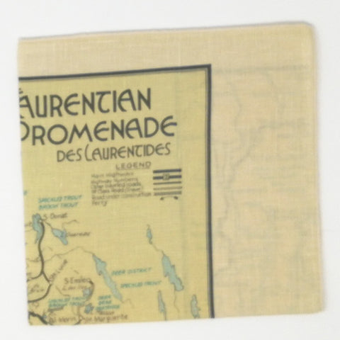 Laurentians Vintage Tea Towel