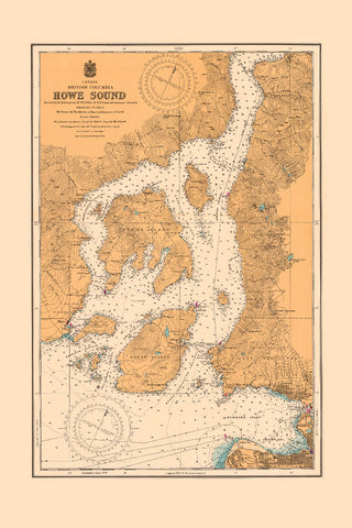 Howe Sound Vintage Tea Towel