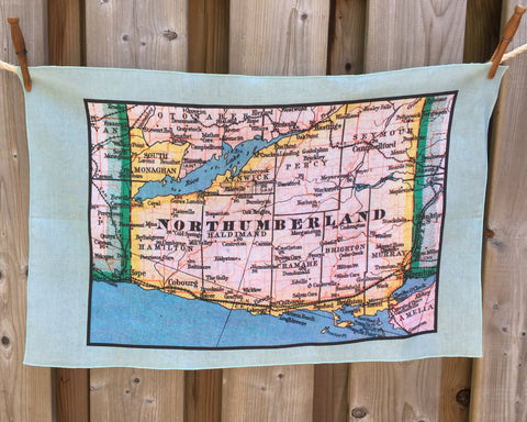 Northumberland Vintage Tea Towel