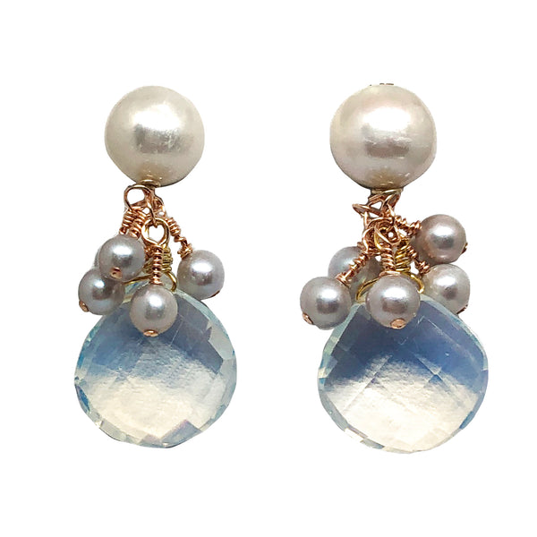 Audrey drops in opalite