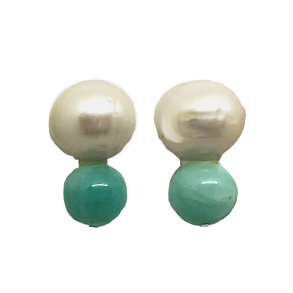 Big Pearl, little amazonite
