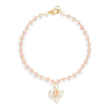 Charlotte necklace in pink