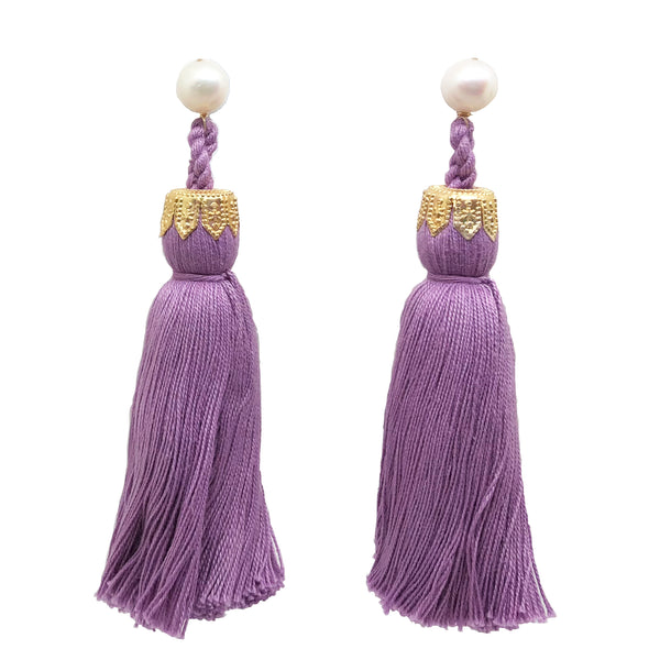 Contessa tassels in lilac