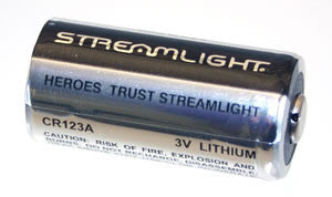 Streamlight - CR123A Battery single