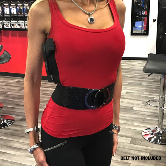 WOMEN'S RED CONCEALED CARRY TANK TOP - LIMITED EDITION