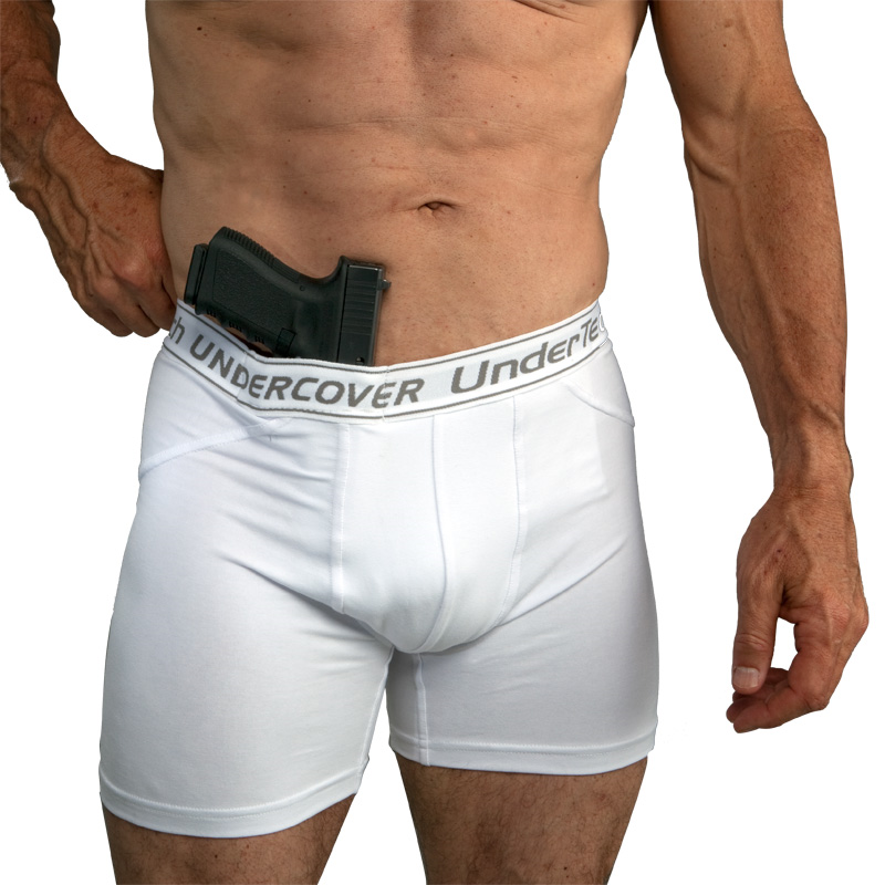 UnderTech UnderCover Executive Men's Concealment Shorts Single Pair