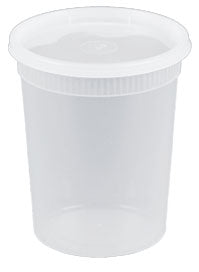 Pinabar 32oz Heavy Duty Clear Container