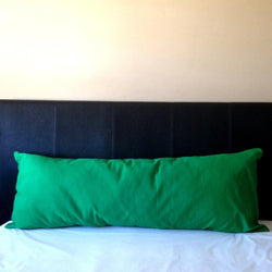 Green Long Body Pillow Cover, 20 x 54