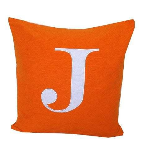 20% OFF Letter Euro Pillow Cover, Monogram Pillow Shams, Euro Sham, 24 x24 Monogram Covers, Personalized monogram pillow cover
