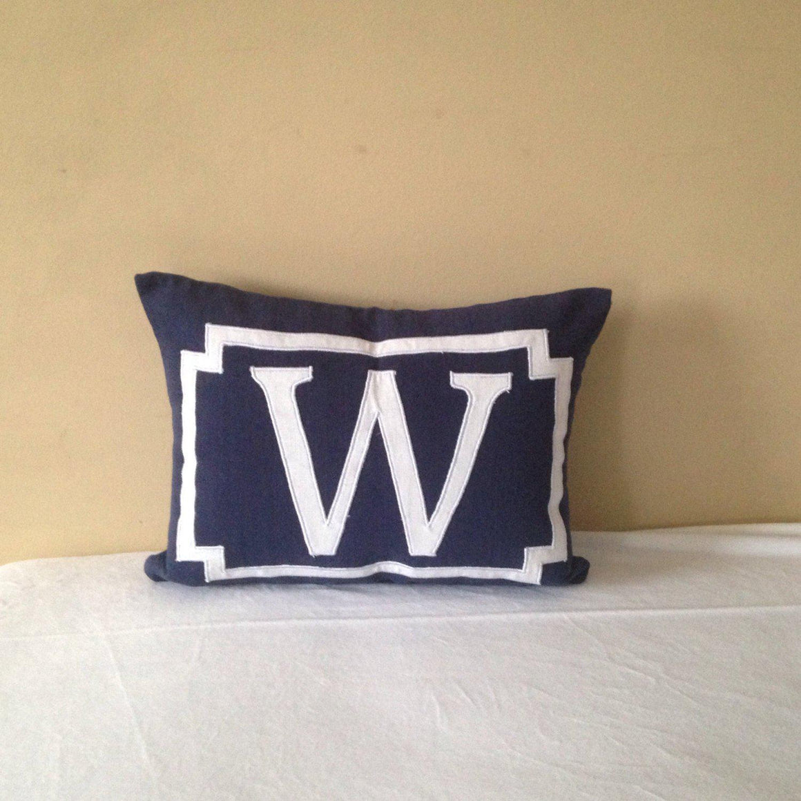 Personalized pillowcases for kids, Monogram pillows for kids, LUmbar Monogram pillow cover, Custom monogram pillow cover