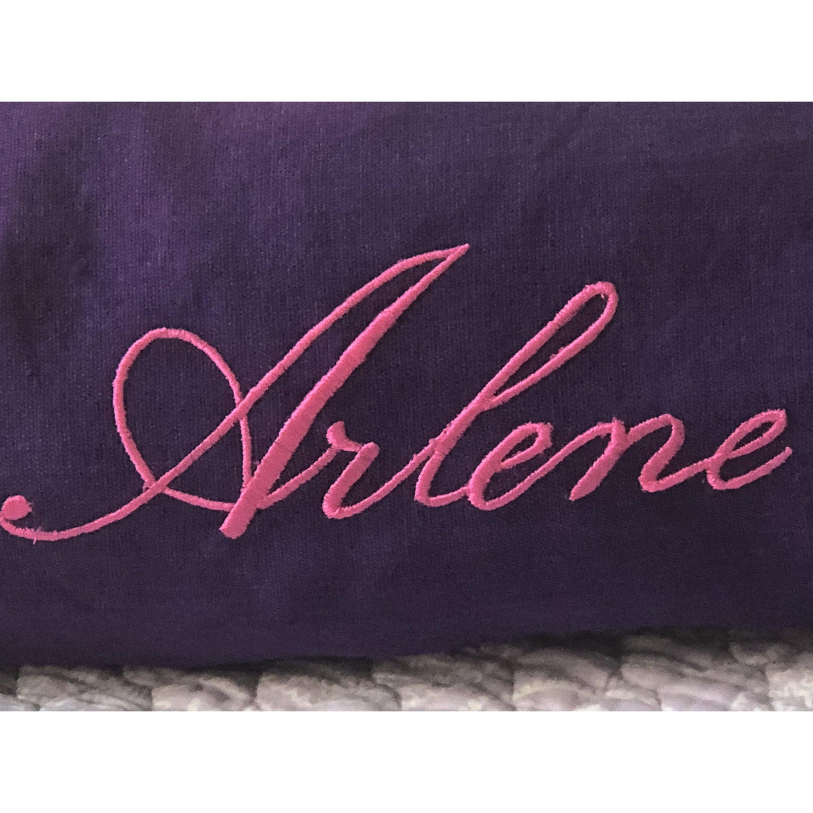 Personalized Monogram Bolster Home Decor
