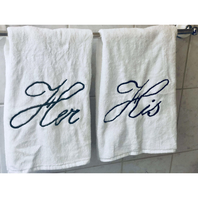 Monogrammed Face Towel, Cotton Luxury Face Towel, Personalized Letter 16x20 Towel Set,  For Bathroom, Kitchen and Spa