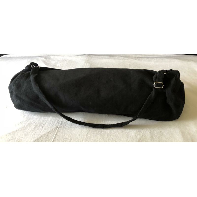 Yoga Mat Black Bag, Cotton Yoga Bag, Zipper Cotton Yoga bags