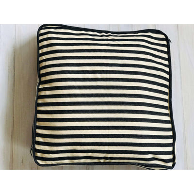 Ticking Pillow Covers, French Box Pillow Covers, Floor Pillow Cover