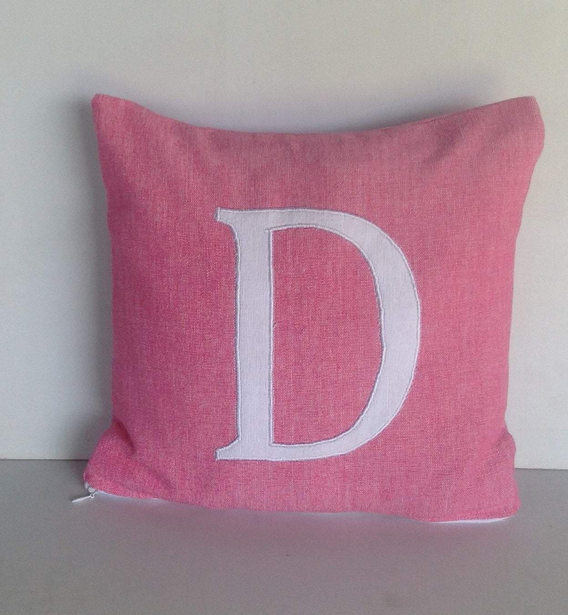 20% OFF Monogram pillows for kids, Pink Nursery decor, Gifts for Her, Home Decor, Monogram Nursery Decor, 18 x18 Monogram Pillow Covers - Snazzy Living