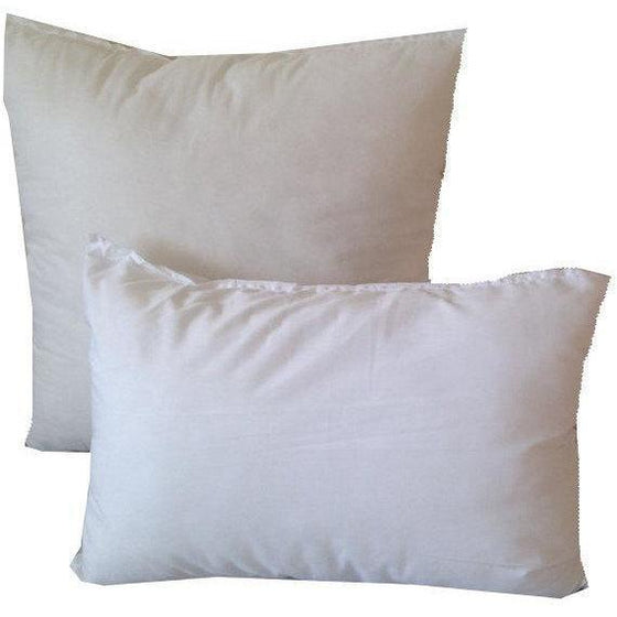 Eco Friendly, Pillow Forms, Custom Pillow insert, Lumbar insert, Square Pillow Inserts, Ecofriendly Inserts, Personalized Inserts - Snazzy Living
