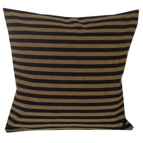 Stripes Brown and Black Pillows Body Pillows