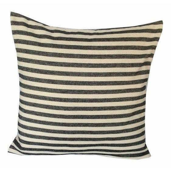 FREE SHIPPING Stripes Pillow Shams, Vintage Black and Cream Stripes Pillow cover, 18x18, 20x20, 24x24, 26x26, 30x30, Modstripe Pillow cover - Snazzy Living
