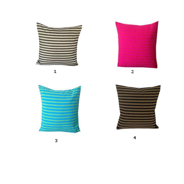 Unique Handmade Gifts, Decorative Stripes Pillows,