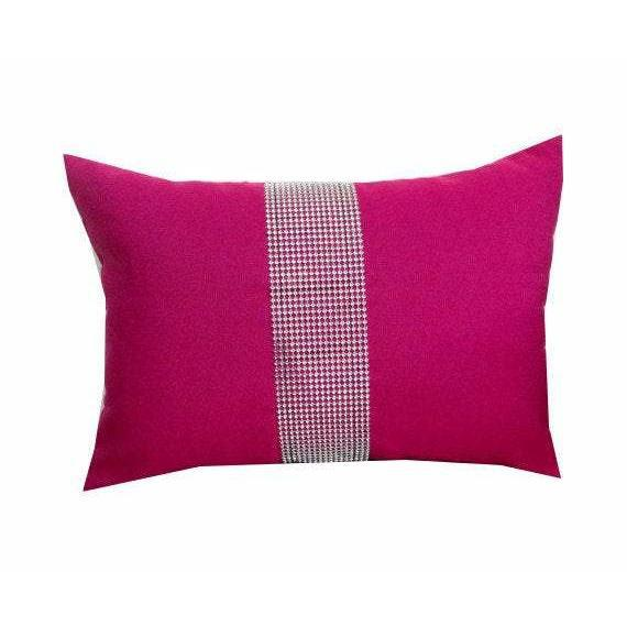 Fuchsia lumbar pillows, Fuchsia Bedrom Pillows, Throw pillows 12x16, gift pillow, Couch Pillows, Designer Pillows