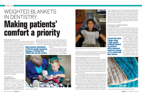 CapeAble Weighted Blankets in  Dentistry