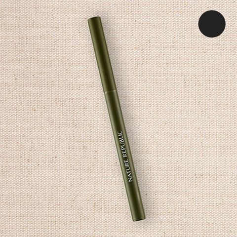 (Nature Republic) Botanical Skinny Auto Eyeliner 01 Black