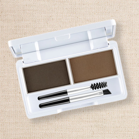 (Nature Republic) Cake Eyebrow 01 Khaki Gray/Dark Brown