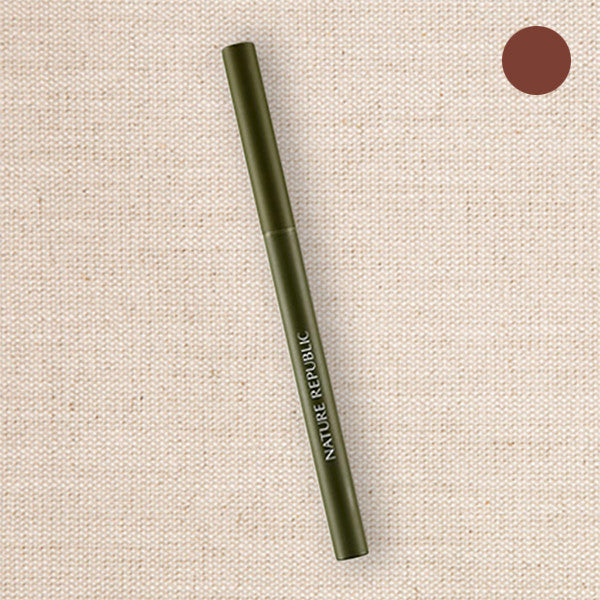 (Nature Republic) Botanical Skinny Auto Eyeliner 02 Brown