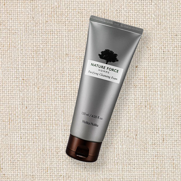 (Holika Holika) Nature Force Homme Purifying Cleansing Foam