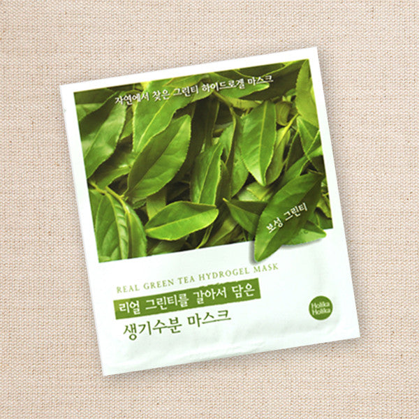 (Holika Holika) Real Green Tea Hydrogel Mask