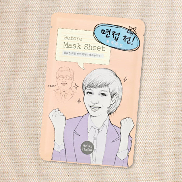 (Holika Holika) Before Mask Sheet-Job Interview