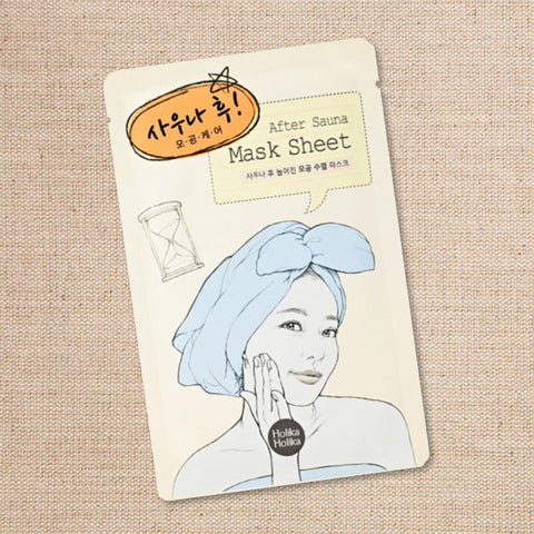 (Holika Holika) After Sauna Mask Sheet