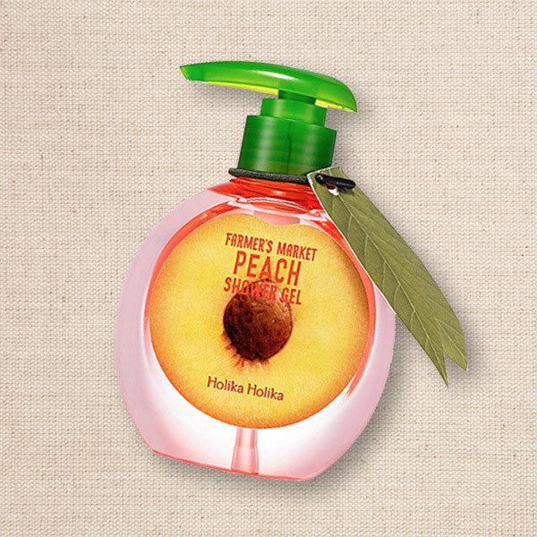 (Holika Holika) Farmer's Market Peach Shower Gel