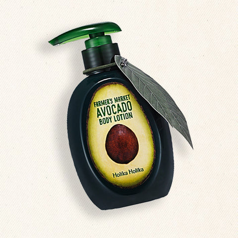 (Holika Holika) Farmer's Market Avocado Body Lotion