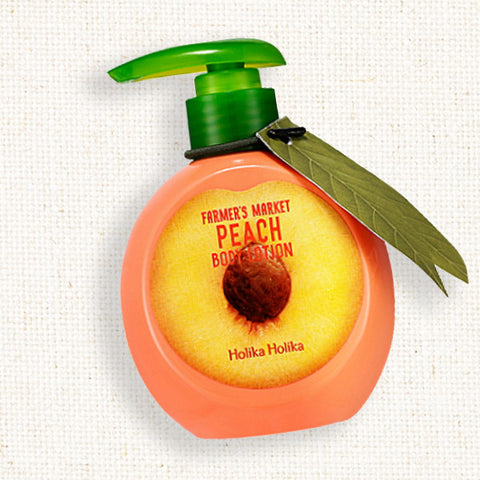 (Holika Holika) Farmer's Market Peach Body Lotion