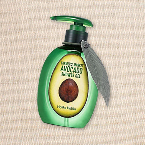 (Holika Holika) Farmer's Market Avocado Shower Gel