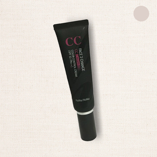 (Holika Holika) Face 2 Change Color Control (CC) Cream Pink Beige