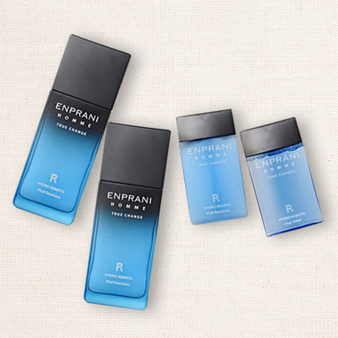(Enprani) Homme True Change Hydro Rebirth Toner & Emulsion Set / Combination