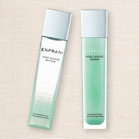 (Enprani) Pore Sensor Skin Toner & Emulsion Set / Combination