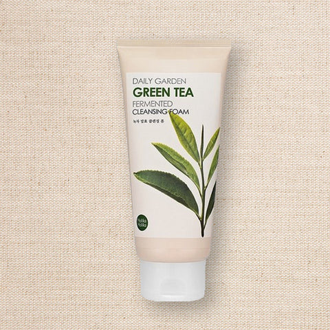 (Holika Holika) Daily Garden Green Tea Fermented Cleansing Foam